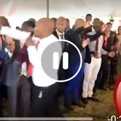 Pastor 'Ruthlessly' Slap Congregants' Heads as He Prays For Them (VIDEO)