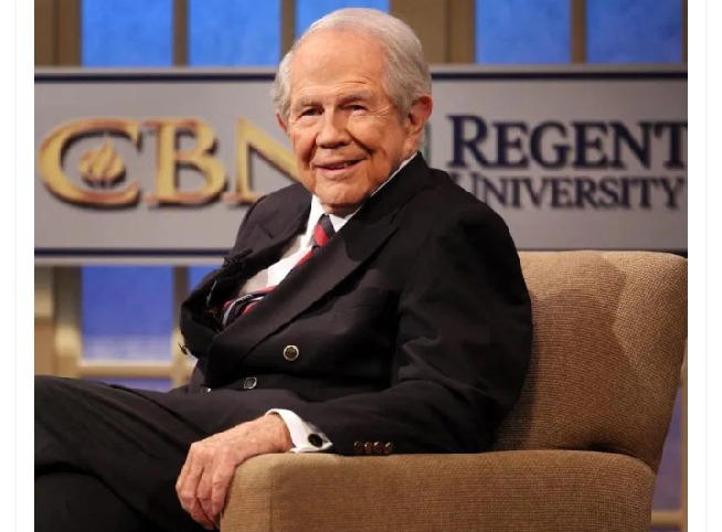 Net worth of American pastor, Pat Robertson, CEO of Regent university