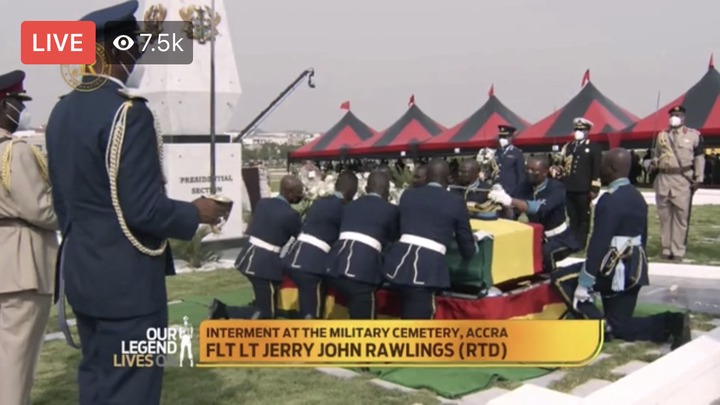 babefd83969b4a348eef1be386f4b275?quality=uhq&resize=720 - Sad Moment: How JJ Rawlings Was Conveyed By The Military To The Newly Built Burna Camp Cemetary