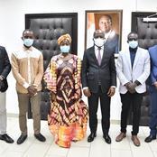 Affaire un couple perd ses jumeaux au CHU de cocody: le ministre Dimba Pierre annonce une enquête