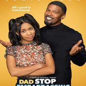 Jammie Foxx's New series Dropping On Netflix Tommorow 'Dad, stop Embarrassing Me'