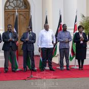 DP William Ruto Missing as Uhuru, Raila and Other High Profile Leaders Issue Statement