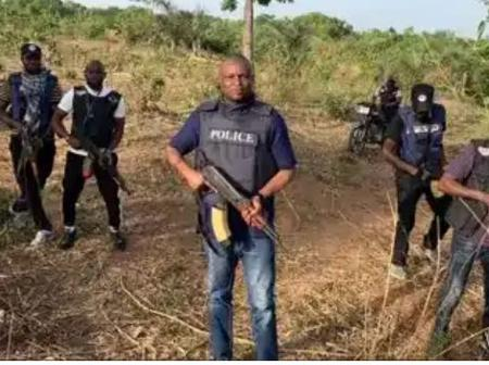 Days After Ortom Was Attacked, Abba Kyari & His Police Team Storm Benue For A Purpose.