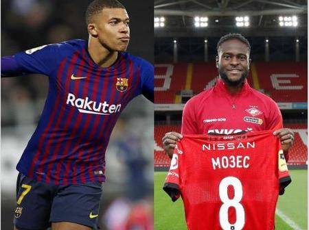 Tuesday Evening Transfer News: DONE DEALS, Victor Moses, Mbappe, Haaland, Aguero, En-Nesyri, Lingard