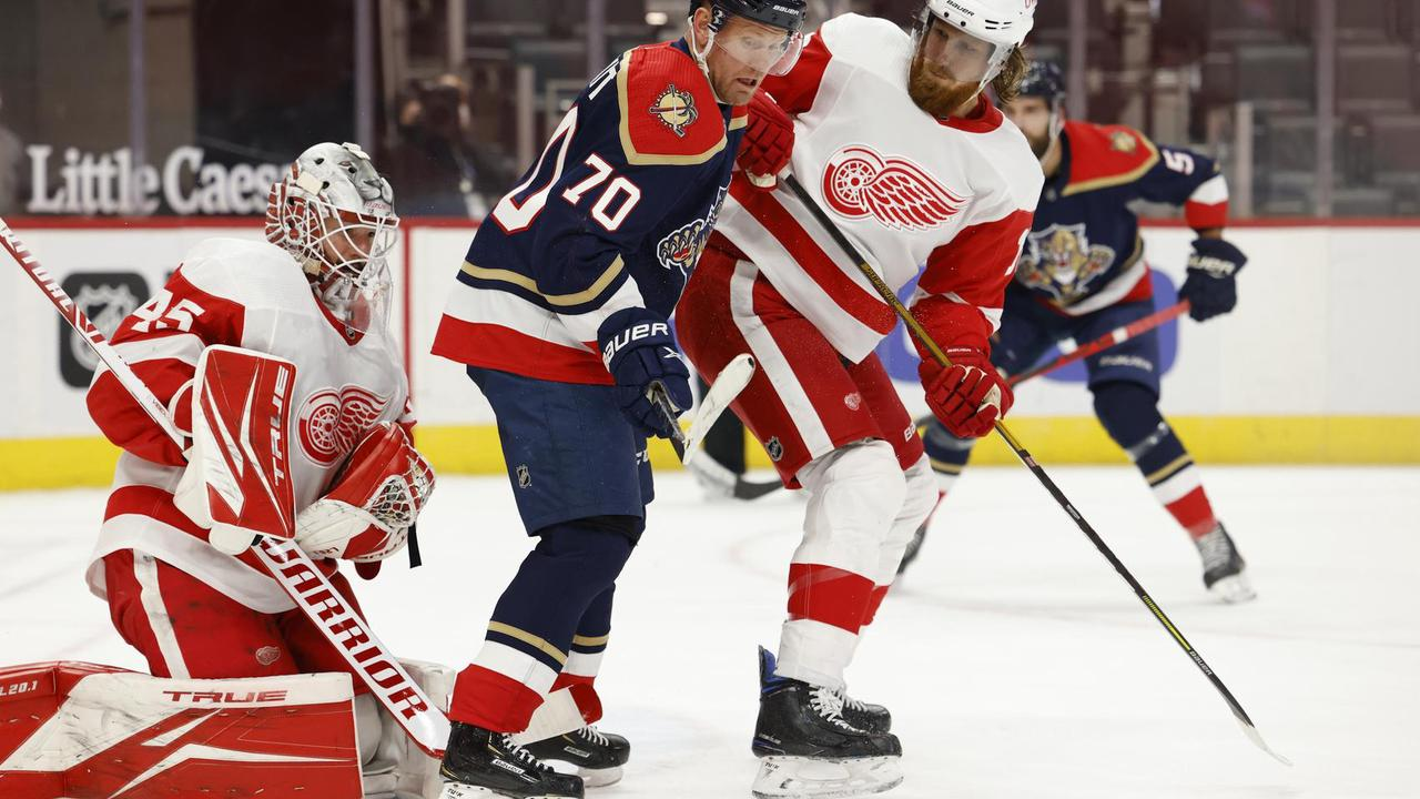 Mathias Brome's goal holds up as Red Wings down Panthers