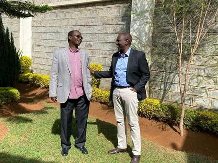 Oscar Sudi Visit Barasa to Pleads With Him to Return to Active National Politics