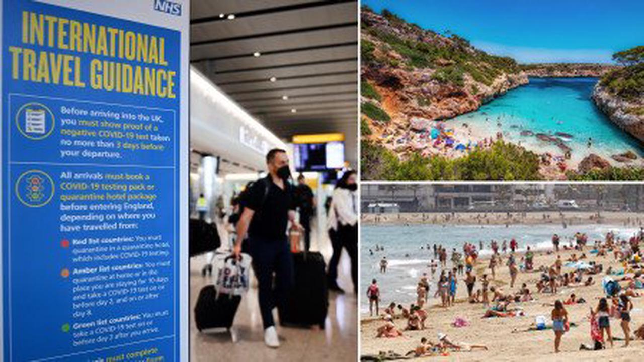 Quarantine could be scrapped for vaccinated EU and US tourists by next week