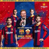 Opinion:Analysis Of Barcelona Coach Ronald Koeman's 4-2-3-1 System Formation.