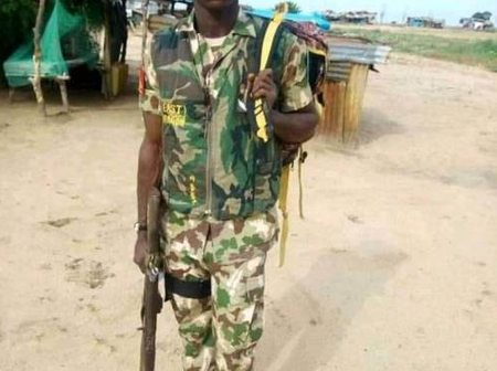 Tension as young Soldier kills newly wedded Lieutenant.