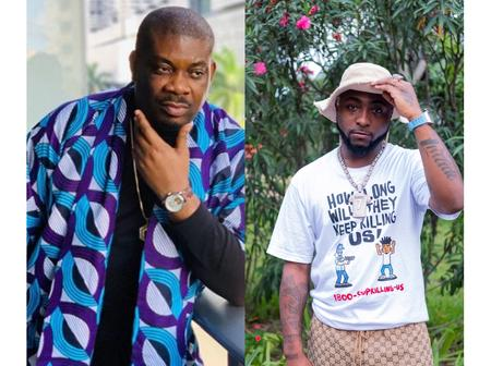 Reactions after Don Jazzy's Artist tweeted about Davido's song