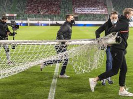 World Cup Qualifiers Game Delayed Due To Wrong Size Of Goalposts