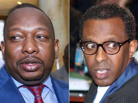 Reactions As Lawyer Ahmednasir Explains why Sonko's lawyer Dr. Khaminwa May Have walked out of Court