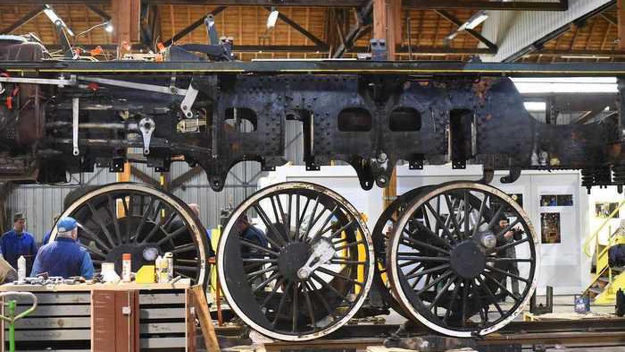 Fabriquée en 1936, elle a parcouru deux millions de kilomètres Hangar de la locomotive Hangar de la locomotive samedi 18 septembre 2021