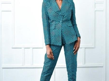 Dear Ladies, See Trending Ankara Suit Styles You Can Wear For Occasions