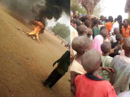 After A Man In Bauchi Abused Prophet Mohammed, See What Muslims Did To Him