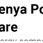 Apology From Kenya Power Care To Its Customers