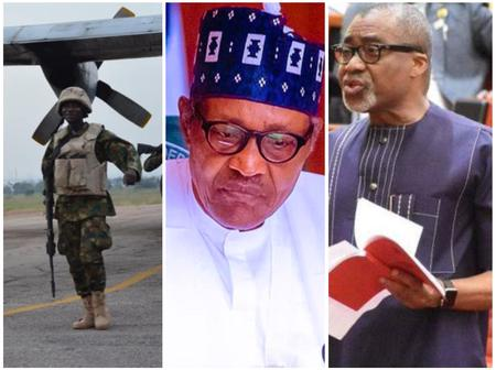 Today's Headlines: NAF Loses An Aircraft In North East, Abaribe Disagrees With Buhari Medical Trip