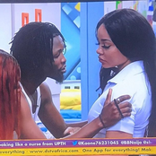 BBNaija: Laycon Is Seen Trying To Console Nengi Who Cried After Ozo Ignored Her At The Party