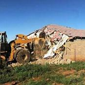 Another cheating wife gets house demolished