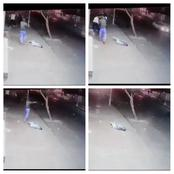 VIDEO:Man shoots to death in Hillbrow at night. SENSITIVE