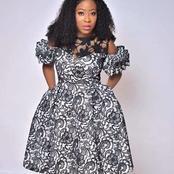 Latest Short Gowns Sew In Ankara Fabrics(Photos)