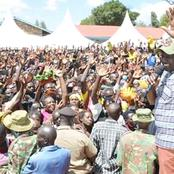Igembe Residents Burst Into Song As They Welcome DP Ruto