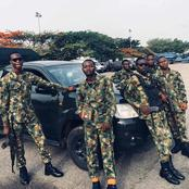 Beautiful Photos Of Nigerian Military Men