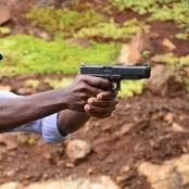 Kisumu Man snatches Pistol from Police, shoots Aimlessly