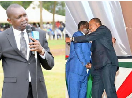 Mp.Oscar Sudi Uses A Bull Challenge Video To Describe Uhuru Kenyatta After The Handshake
