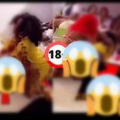 Lesbians Were Caught On Camera Making Out During Party