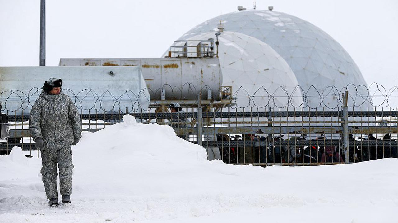 Inside Putin's military base at the North Pole: Moscow tells the West 'this is our land' and reveals huge complex that can operate nuclear bombers and bristles with missiles and radar