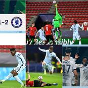 BREAKING! Chelsea Qualify For UCL Round Of 16 After 2-1 Win At Rennes