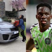 Check Out The Beautiful Range Rover Car That This Super Eagles Player Bought For His Wife (VIDEO)