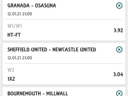 Today's Five Must Win Correct Score Multi bet Tips That will earn you Big