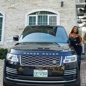 Popular Nigerian Female Blogger, Linda Ikeji Has Bought Another Range Rover Car Again (Photos)