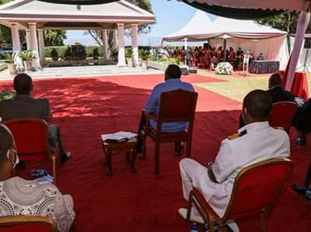 Photos Of The Late President Daniel Moi's Beautifully Constructed Grave And Some Details About it