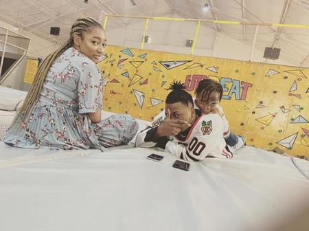 Olamide Baddo Shares Beautiful Picture Of His Family, As His Son Turns 5!!!
