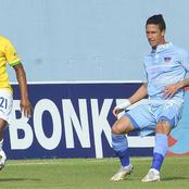 Top performers: Chippa United vs Mamelodi Sundowns.