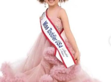 Five-year old Nigerian girl wins Miss Toddler USA