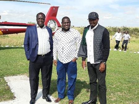 DP Ruto Reportedly Holds Meeting With ODM Deputy Party Leader Amid Coalition Talks