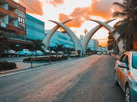 The Booming Mombasa City