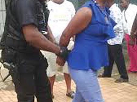 Police Wife arrested for killing her husband