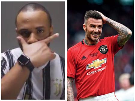 See mixed reactions after a lady compared Ozo to David Beckham on Social Media.