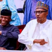 Today Is Osinbajo's Birthday, Check Out What Buhari Did For Him