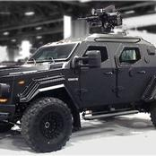 6.Mordern Armored cars that you only thought existed in movies