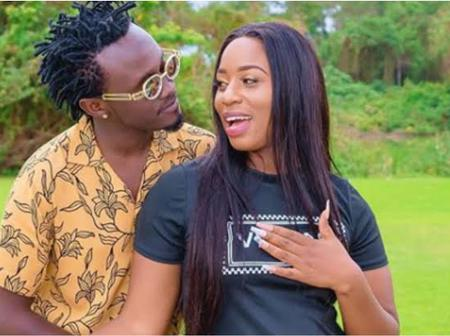 Bahati Leave Kenyans Talking After Commenting This On Diana's Photo