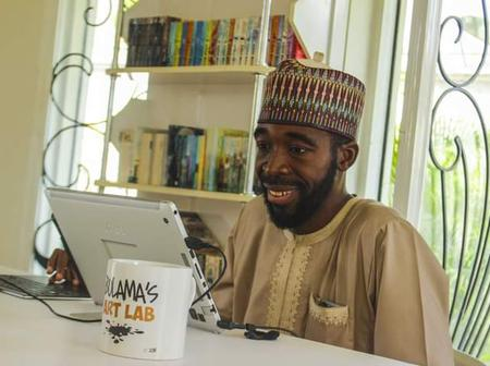 Meet Mustapha Bulama, From KD Who Specializes In Political Cartoons And Children's Book Illustration