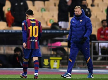 Koeman to upset Messi