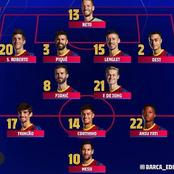 OPINION: Barcelona Will Win PSG If Koeman Could Use This Lineup In Their UEFA Champions League Match