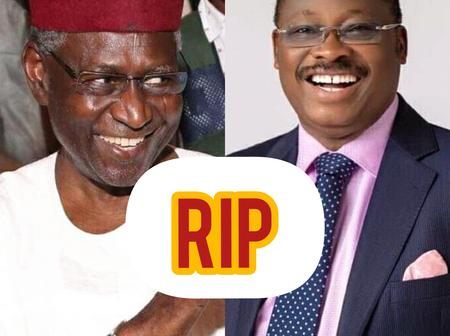 RIP: Nigerian Top Politicians Who Died From Covid-19 Complications (Photos)